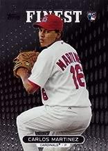 2013 Topps Finest Baseball #89 Carlos Martinez Rookie Card – Near Mint to Mint