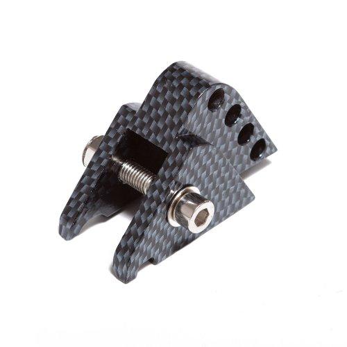 Höherlegungssatz Import 4-Fach verstellbar für Minarelli liegend, Carbon - Look