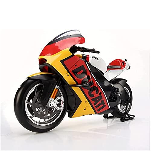 PPQQBB Boutique para DUC┐ATI 1: 6 Edición Limitada Aleación de simulación Modelo de Motocicleta COLECCIÓN DE Decoración de Regalo Coche de Juguete (Color: Ducati Versión de
