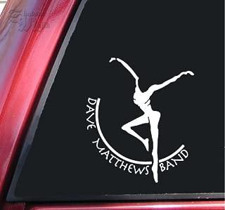 ShadowMajik Dave Matthews Band Vinyl Decal Sticker (6