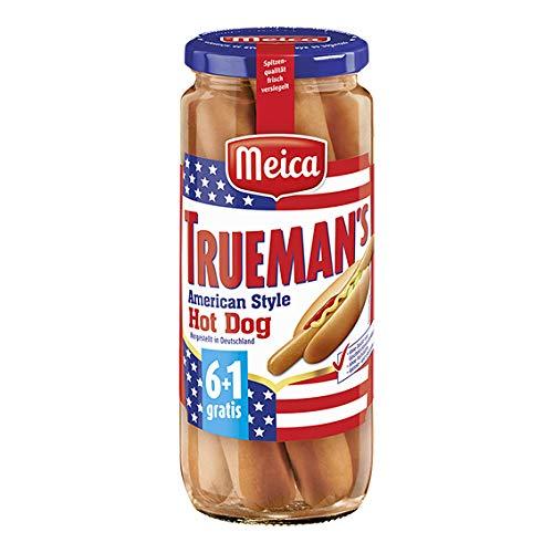 Meica Truemans Hot Dog-Würstchen, 7Stück, 350g