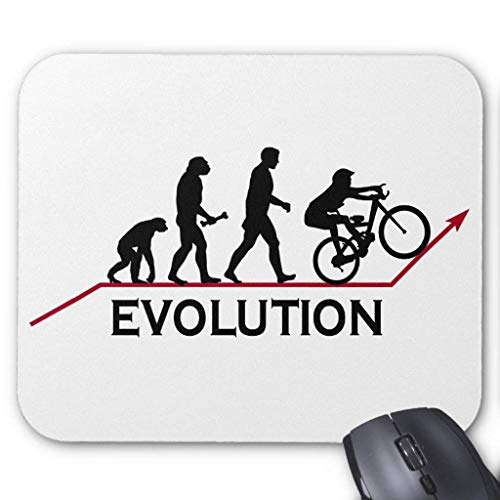 Muismat, Gaming Mouse Pad Grote Grootte 300x250x3mm Dikke Mountainbike Evolution Verlengde Muis Pad Antislip Rubber