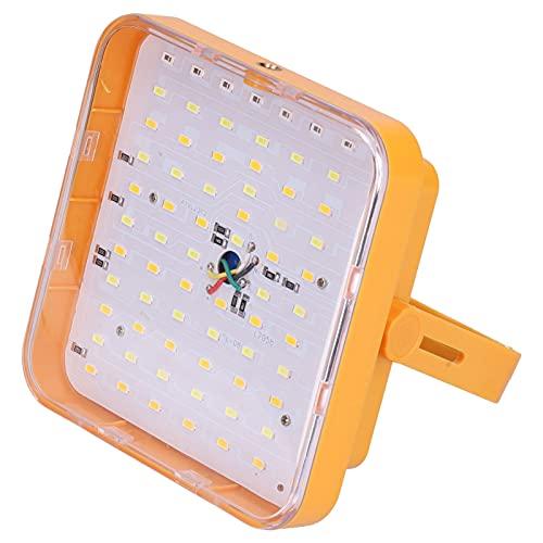 Cloudbox Luz de inundación LED Luz de Camping Solar LED Luz de Emergencia de inundación LED Recargable USB para Acampar al Aire Libre Senderismo