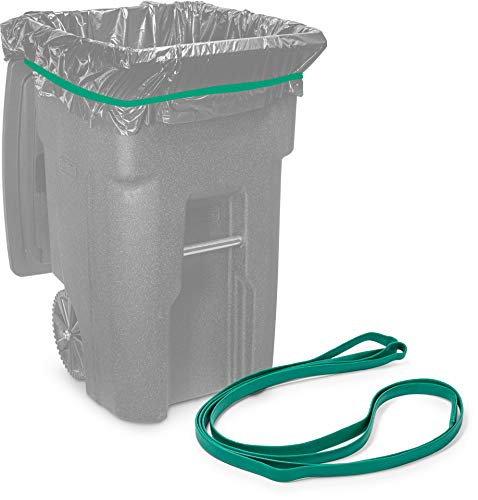 Rubber Bands for 64-65 Gallon Trash Cans (Value 6 Pack)