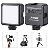 VL49 On Camera Vlog Pocket Video Light, CRI 95+ Handy Rechargeable LED Fill Light, with 3 Cold Shoe Port, 2000mAh USB-C Rechargeable Mini Lighting Video Shooting Youtuber Livestreaming Accessories