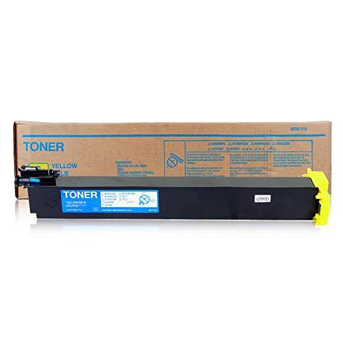 TN214 Toner Cartridge compatibele vervanging voor KONICA MINOLTA C200 C210 C7721 Series Printer, printkwaliteit is uitstekend, geen verschil dat size Geel