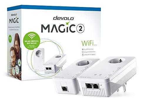 Devolo Magic 2 WiFi Starter Kit 2-1-2 (1xWiFi+1xLAN 2400mbps Powerline Adapter)