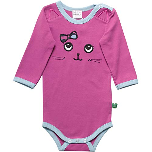 Fred's World by Green Cotton Animal Front Body Shaping, Morado (Violet 018302708), 74 para Bebés