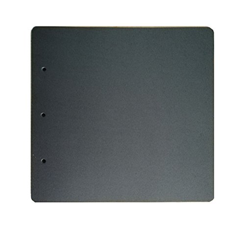 guwheat Scrapbook Refill schwarz Seiten für Album, 20 Blatt (26 x 25,5 cm)