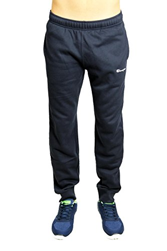 Champion Uomo - Pantaloni Classic Small Logo - Blu, M
