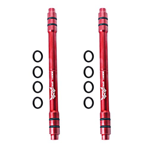 sharprepublic Adaptador de Pinchos de Liberación Rápida de 2 Piezas de Aleación de Aluminio MTB de 12 Mm a Eje Pasante de 9 Mm