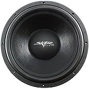 "Skar Audio VD-15 D4 15"" 500W RMS Dual 4Ω VD Series Shallow Mount Subwoofer"