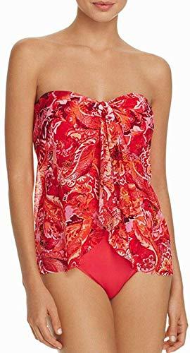 Ralph Lauren Coral Exotic Flyaway One Piece Swimsuit 8