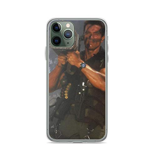 Arnold Schwarzenegger Commando Rocket Launcher Phone Case Compatible with iPhone 12 11 X Xs Xr 8 7 6 6s Plus Pro Max Samsung Galaxy Note S9 S10 S20 Ultra Plus