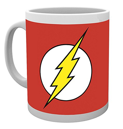 GB Eye LTD, DC Comics, The Flash Logo, Taza