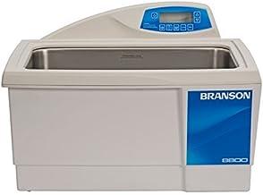 "Bransonic CPX8800H Ultrasonic Cleaner 5.5 Gal Digital Timer, Heater & Degas. & Temp Monitor 19 1/2""L x 11""W x 6""D ID"