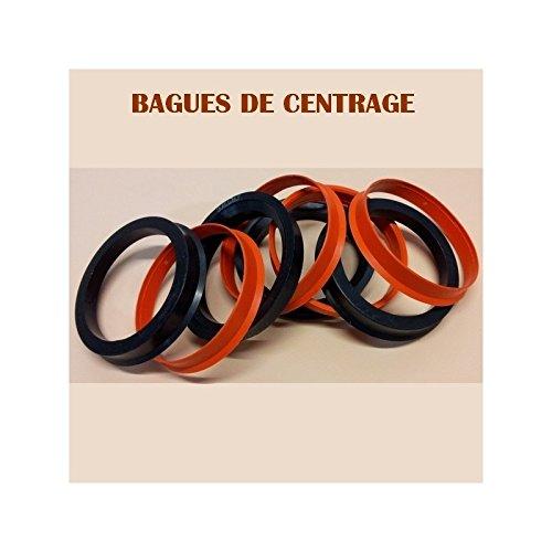 ADNAuto 4 Bagues De Centrage - Ext 60.1 - Int 57.1