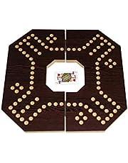 Jackaroo for 4 players - dark brown board