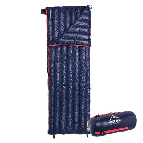 Saco de dormir ultraligero para acampar, impermeable, bolsa perezosa, almacenamiento portátil, compresión, saco de dormir de viaje