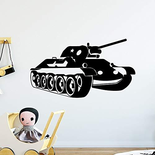 Kjlfow Material de la Etiqueta de la Pared de la Etiqueta del Arte de la Pared del Tanque Caliente para la decoración de la habitación de los niños Etiqueta del Arte de la Pared 28X49cm