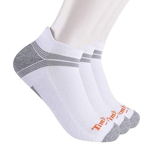 Timberland PRO Herren 3-Pack Power Train Low Cut Ankle Socks Knöchelsocken, Weiß, X-Large