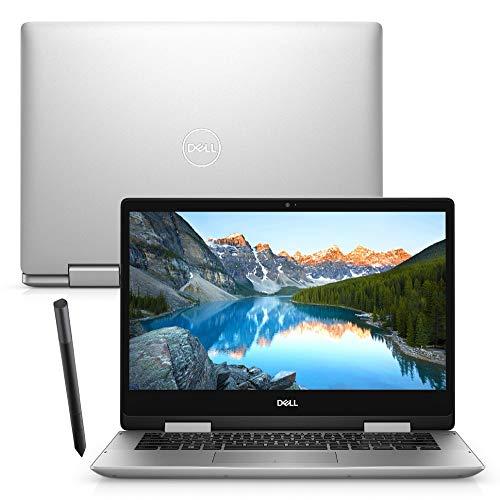Notebook 2 em 1 Dell Inspiron 5491-M30S 14 Touch 10ª G. Intel Core i7 8GB 256GB SSD Placa Vídeo NVIDIA Windows 10 Caneta