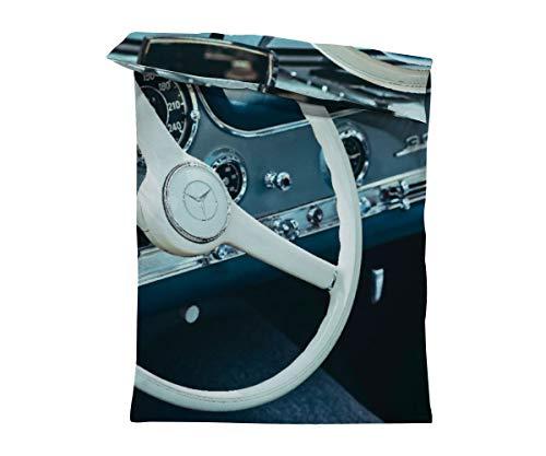 fotobar!style Bettbezug 135 x 200 cm Mercedes Benz 300 SL Flügeltürer, 1955, 2996 CCM, 215 PS, 250 km/h