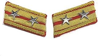 旧日本陸軍 98式襟章 中佐 レプリカ◆九八式 軍装 軍服 撮影用 コレクション