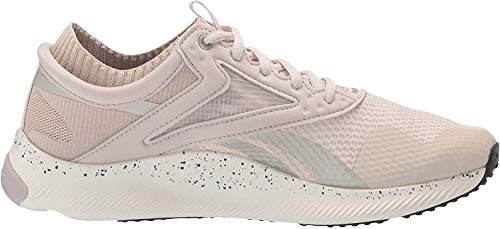 Reebok Women's HIIT Training Shoe Cross Trainer, Stucco/Chalk/Pure Grey, 9 M US