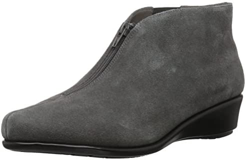 Aerosoles Women s Allowance Ankle Boot Dark Gray Suede 9 M US product image