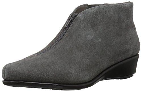 Aerosoles Women's Allowance Ankle Boot, Dark Gray Suede, 9 M US