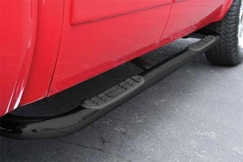 "TrailFX 1130340013 Ford F-Series 3"" Black Powdercoat Nerf Bars - Nerf Bars"