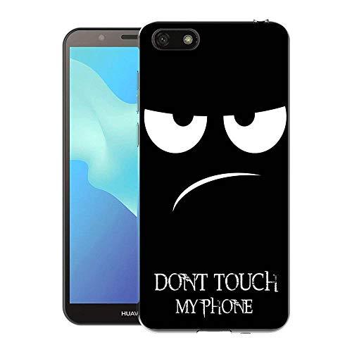 Huawei Y5 2018 / Y5 Prime 2018 / Honor 7S Handy Tasche, FoneExpert® Ultra dünn TPU Gel Hülle Silikon Hülle Cover Hüllen Schutzhülle Für Huawei Y5 2018 / Y5 Prime 2018 / Honor 7S