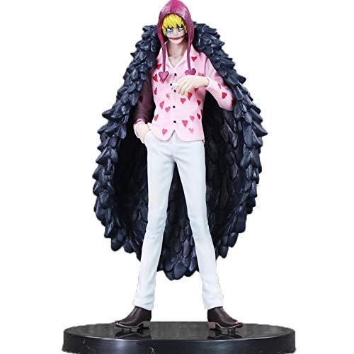 Rrfay 17 cm One Piece Corazon Donquixote Rosinante Figura de Acción Doflamingo Brother Anime Modelo de Colección Juguete