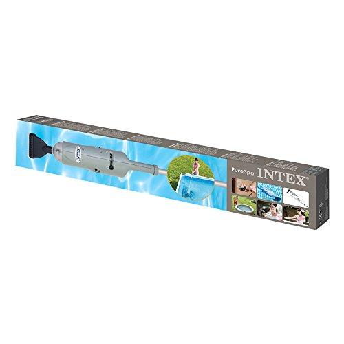 INTEX Nettoyeur balai à batterie Rechargeable Gris 106x17,4x14 cm