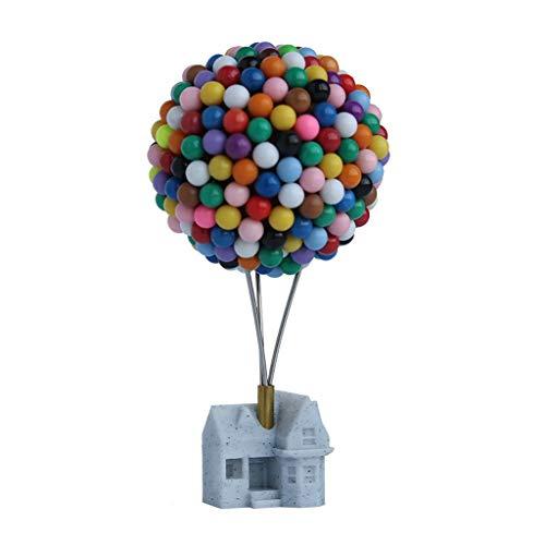 NYKK Ornamento de Escritorio La decoración del hogar de Escritorio, Figuras en Miniatura Creativas, pequeños Adornos for la Fiesta de cumpleaños y artesanías decoración