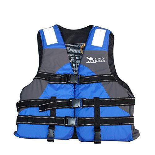 ENTRE NUBES Complementos de Ayuda a la flotabilidad 50 N para Adultos Homologado para Deporte acuático Sup Pesca Kayak Rafting Motos de Agua Barco Infantil (Altura 175-180cm, Peso 70-80 kg)