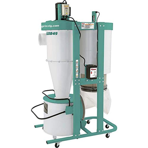 Buy Discount Grizzly Industrial G0849-3 HP Cyclone Dust Collector