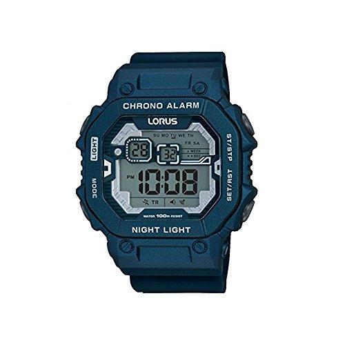 Lorus Reloj Hombre de Digital con Correa en Silicona R2399KX9
