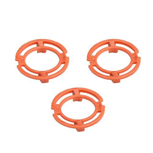 Garosa 3-teiliges orange Sicherungsring für Blade Halteplattenhalter für Philips Norelco Series 7000 9000 RQ12-Modelle