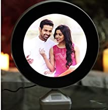 GiftnGlory Magic Mirror Cum Photo Frame with LED Light for Home Decor