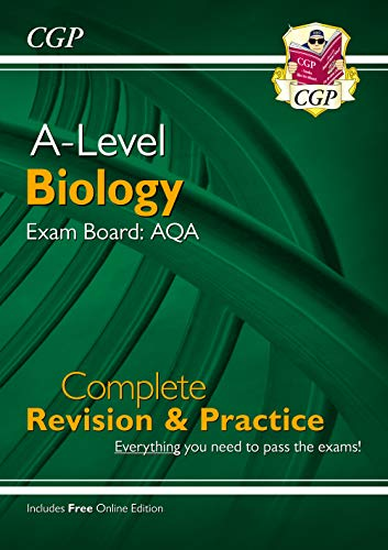 A-Level Biology: AQA Year 1 & 2 Complete Revision & Practice with Online...