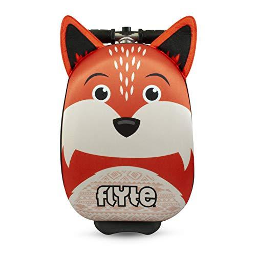 Zinc Flyte Unisex-Youth Mini Frazer the fox Scooter Luggage case, Orange/White, 15 inch