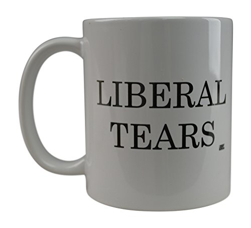 Rogue River - Taza de café, diseño de lágrimas liberales