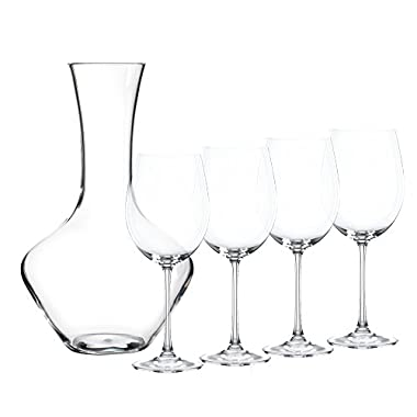 Nachtmann - The Life Style Division of Riedel Glass Works 93605 Vivendi Decanter With Glasses, Clear
