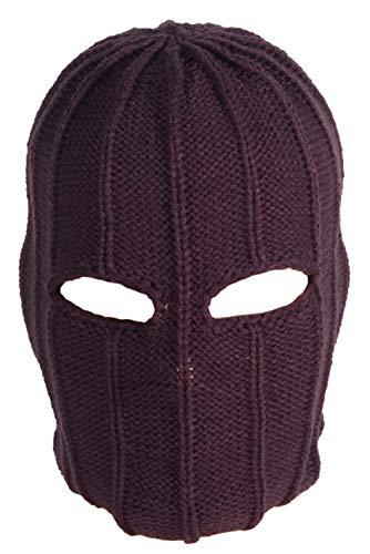 Barone Zemo Cosplay adulto film Cosplay copricapo lavorato a maglia integrale copricapo Halloween Carnevale Cosplay puntelli Come mostrato Taglia unica