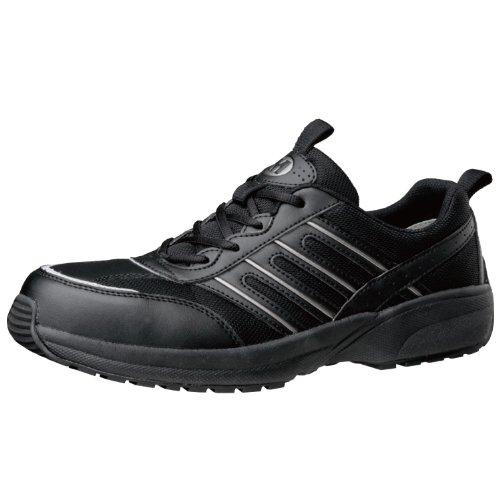 [ミドリ安全] 安全作業靴 JSAA認定 軽量 プロスニーカー SL601 メンズ ブラック 26.0(26cm)