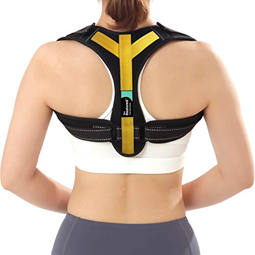 Posture Corrector for Men and Women - with PostureFIX Slouch...