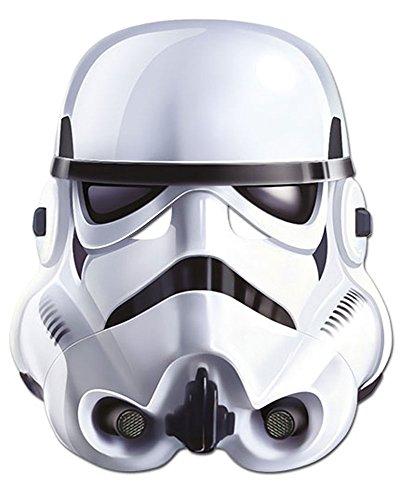 empireposter Star Wars - Stormtrooper Papp Maske, aus hochwertigem Glanzkarton mit Augenlöchern, Gummiband - Größe ca. 30x20 cm