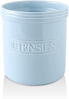 Sponsored Ad - KOOV Cooking Utensil Holder, Large Ceramic Utensil Crock, Deep and Stable, Utensil Caddy for Countertop Let...